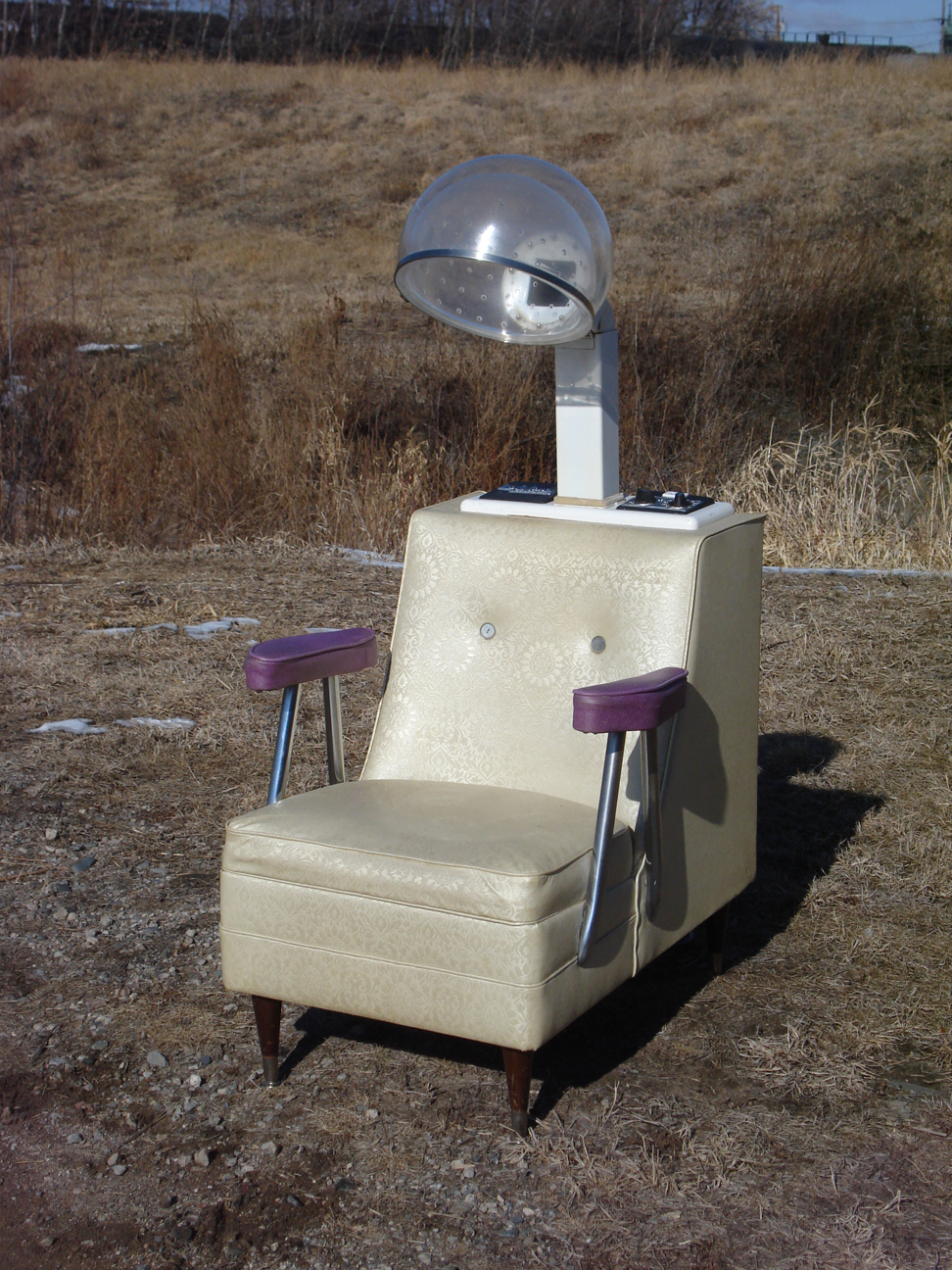 Mid-century Salon Chair Hair Dryer - $90