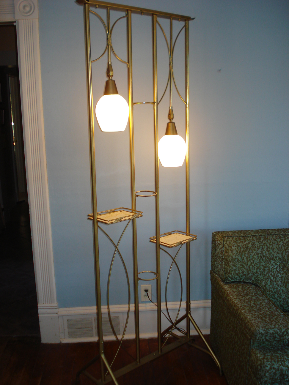 Lamp / room divider / plant stand