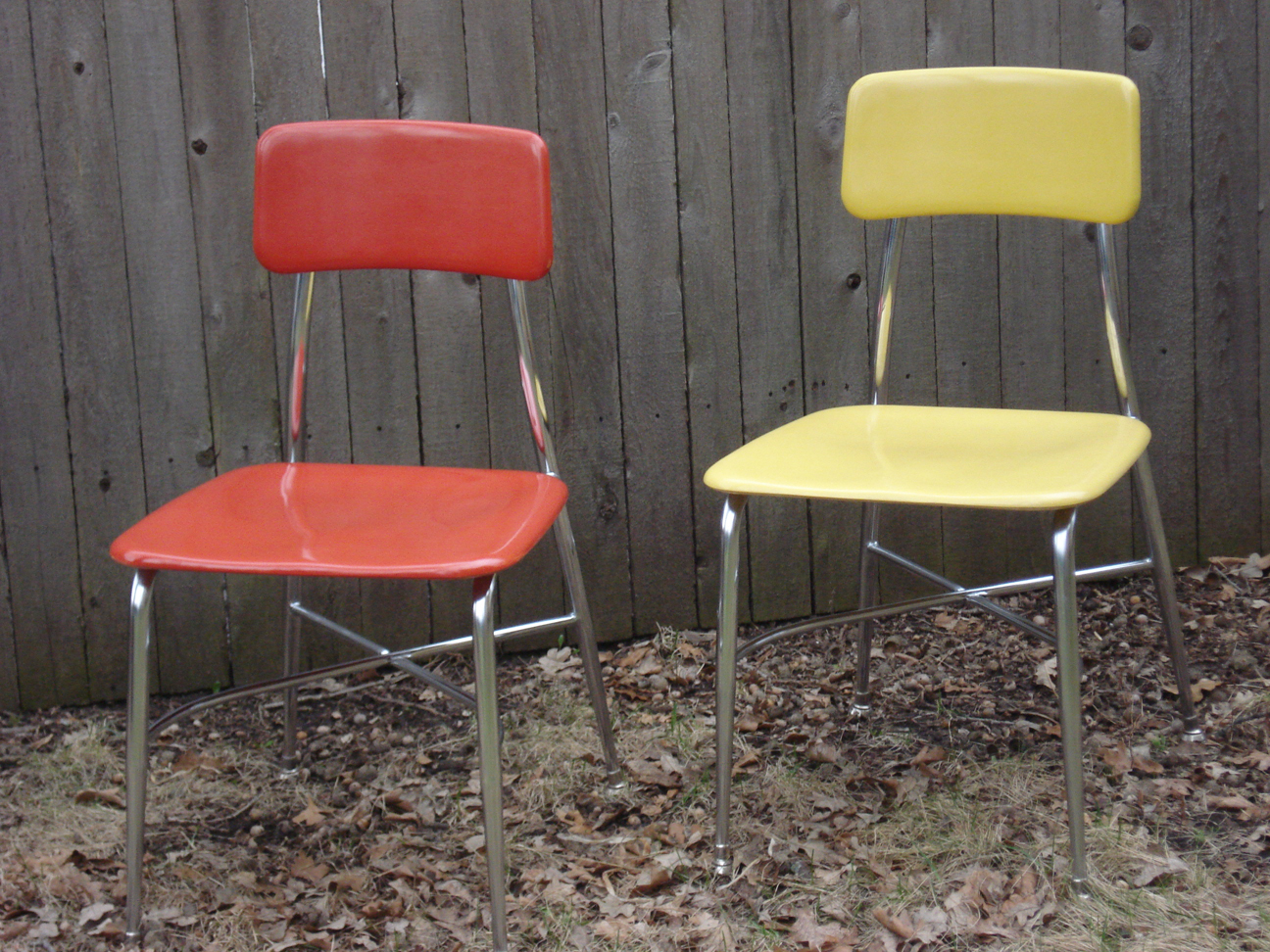 "Heywood Wakefield ""HeyWoodite"" chairs"