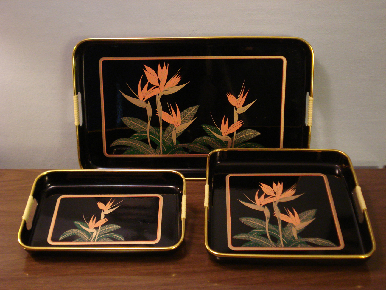 Japanese Lacquerware Trays