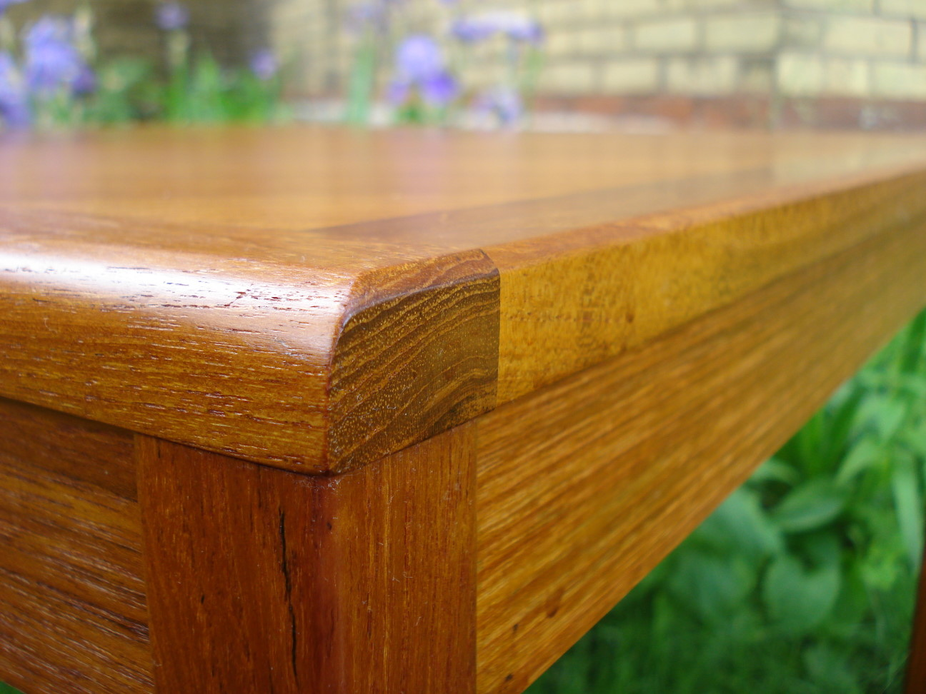 Mobelfabrikken Toften Teak Table - detail of corner
