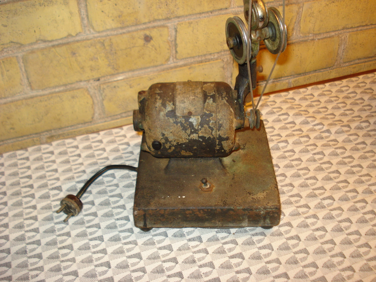 Vintage Dental Drill Motor