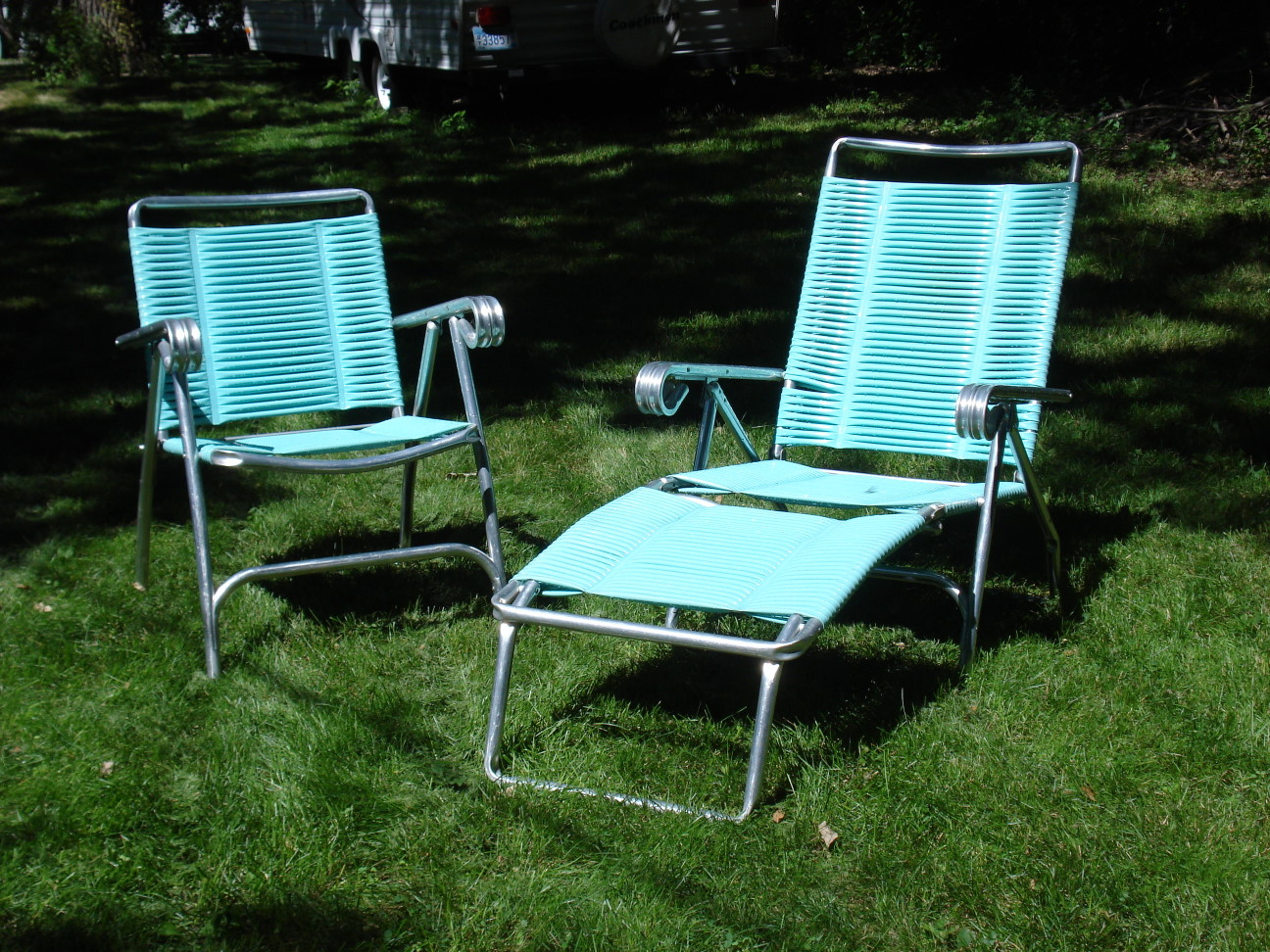 Retro Lawn Chair and Lounge - Retro Lawn Chair And Lounge – Erik G. Warner