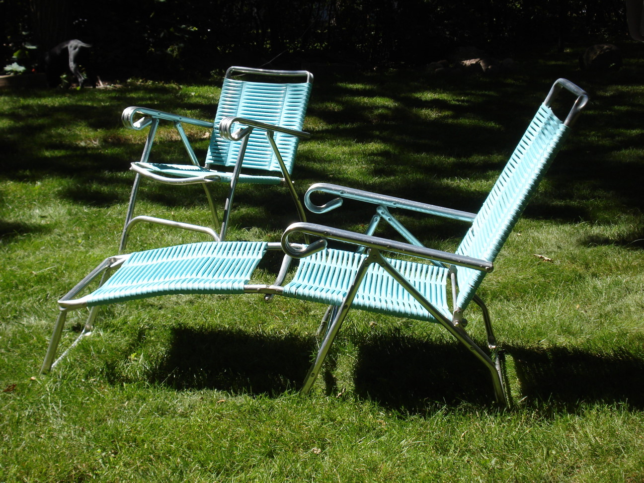 Retro Lawn Chair and Lounge