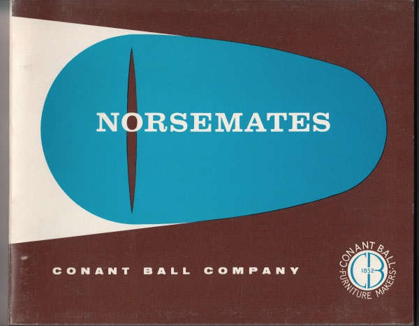 Conant Ball Norsemates collection catalog cover. Courtesy The Gardner Museum Inc., Gardner, MA.