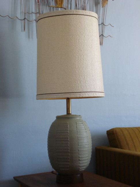Bob Kinzie designed lamp.