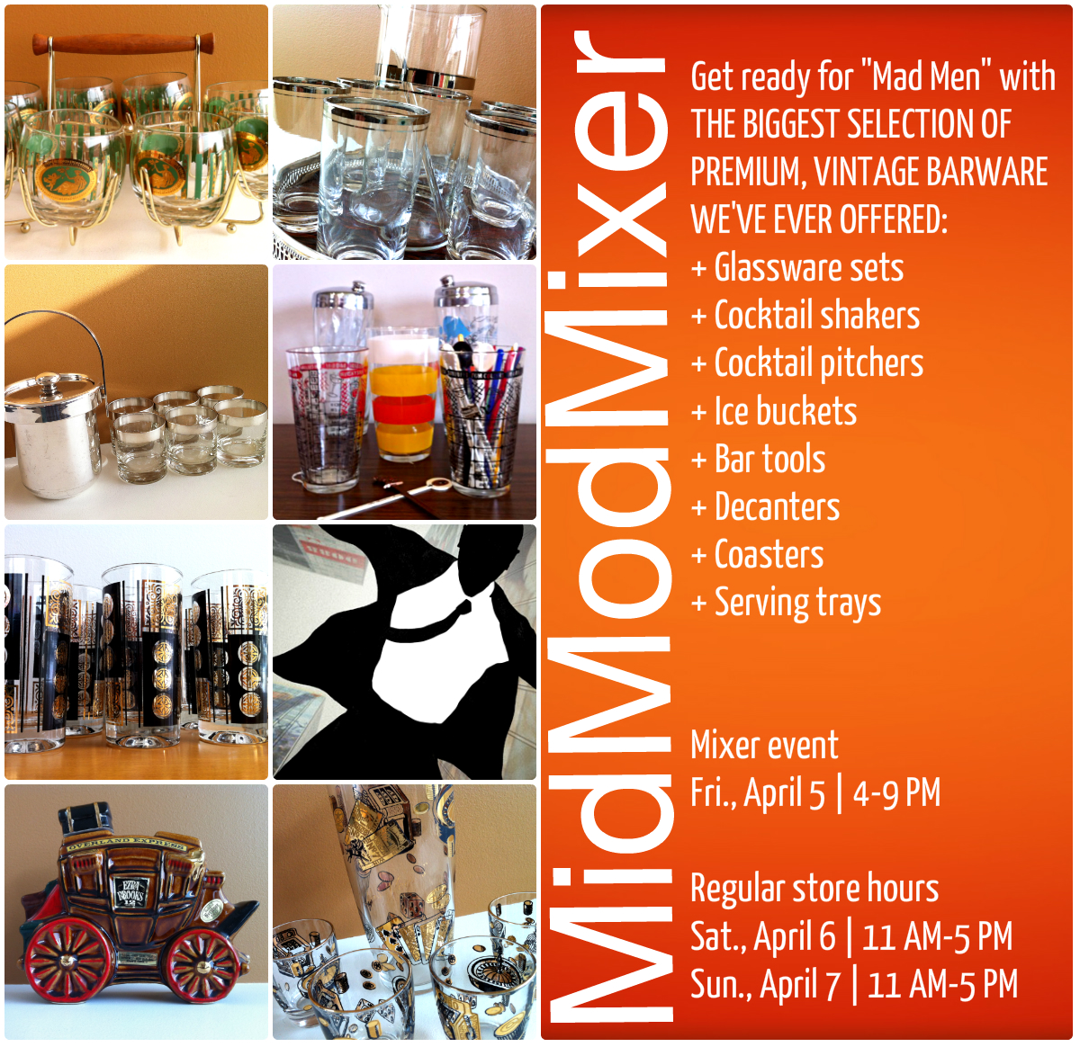 MidModMixer Barware Event