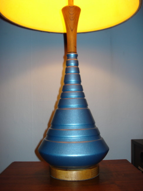 That Pretty Blue Lamp