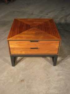 Stanley occasional table refinished by Erik G. Warner