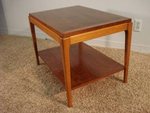 End table refinished by Erik G. Warner
