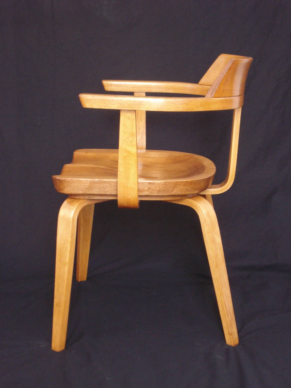 Thonet chair restored by Erik Warner, 2015.