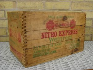 Remington ammo box