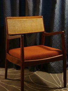 "Jens Risom C140 ""Playboy"" Armchair - Restored by Erik G. Warner"
