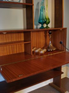 Freestanding Mid Century Wall Unit/Secretary