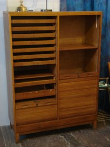 Swedish Made Ticket Agent's Cabinet