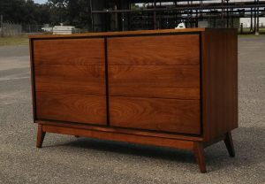 Unmarked Mid Century Dresser- Refinished by Erik G. Warner