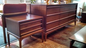 Lane Rhythm 9-drawer Dresser and Nightstand - Restored by Erik G. Warner