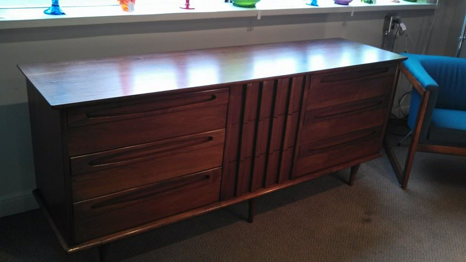 American Of Martinsville 9 Drawer Dresser Refinished By Erik G Warner